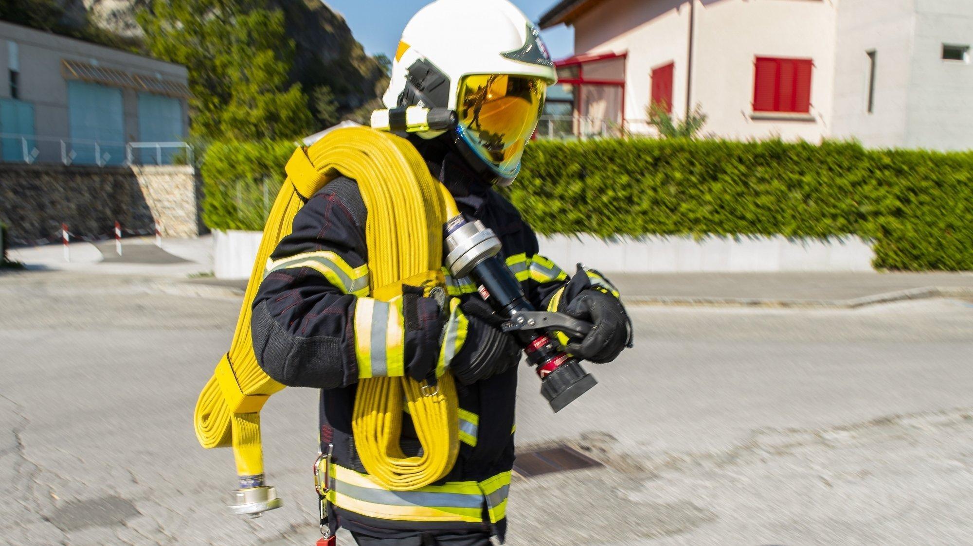 Incendie à Travers: un immeuble évacué