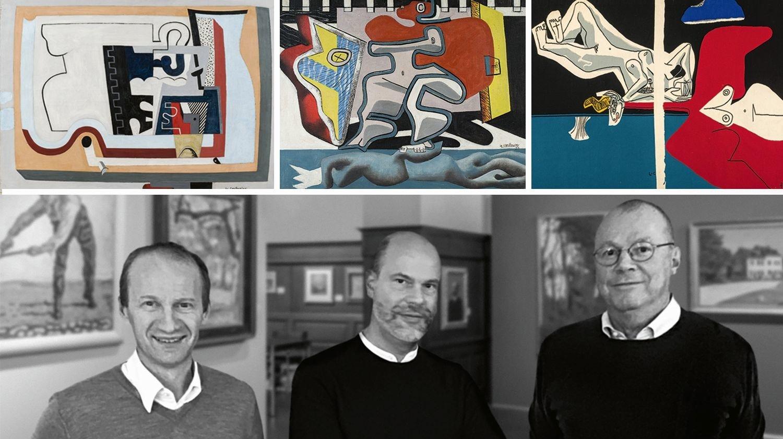 Evénement rare: deux tableaux et une tapisserie du Corbusier vendus aux enchères à Bâle
