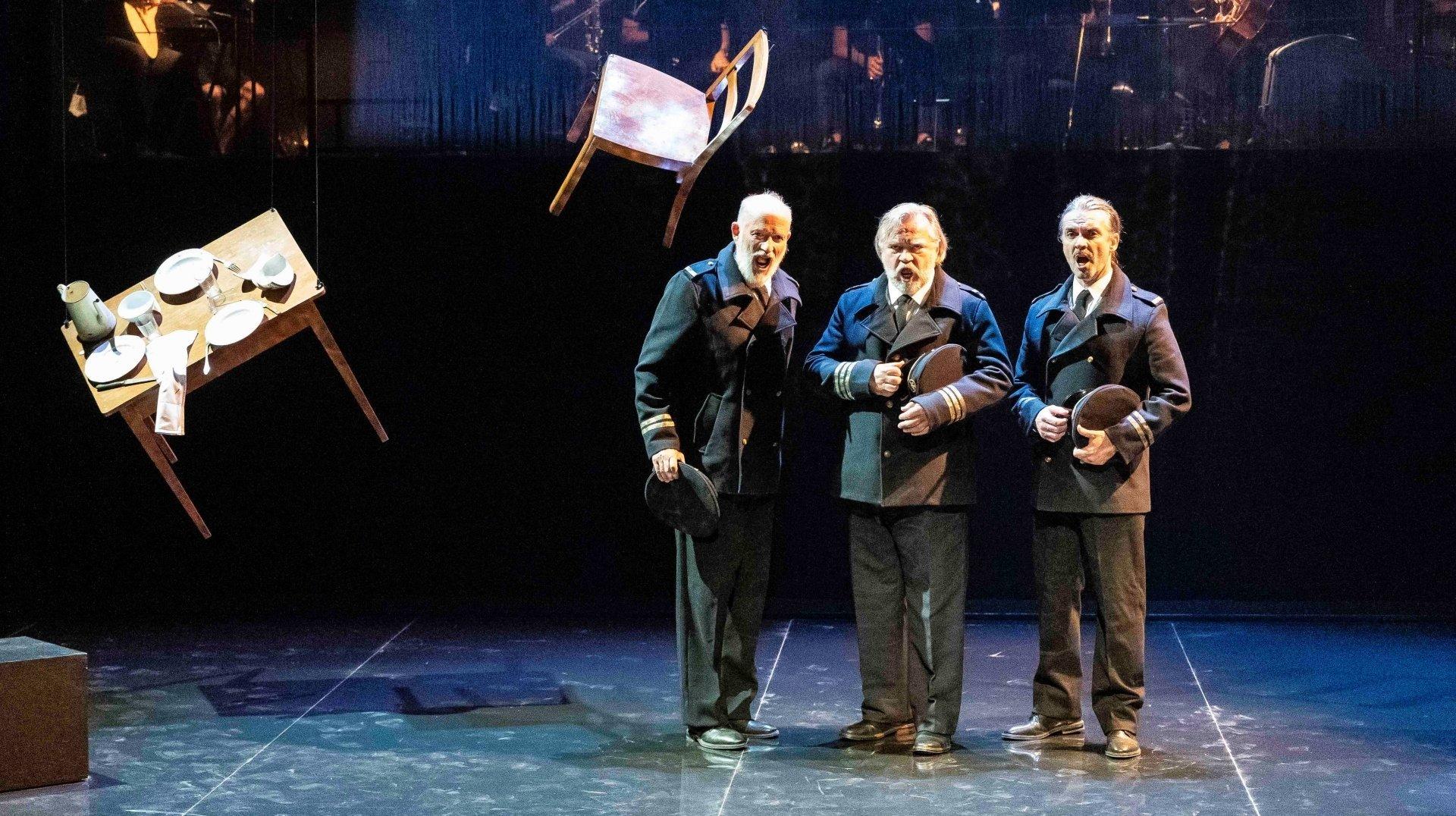 Trois hommes dans les ténèbres aux Jardins musicaux