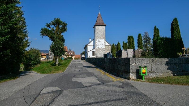Lignières: la rue du Moutilier partiellement fermée