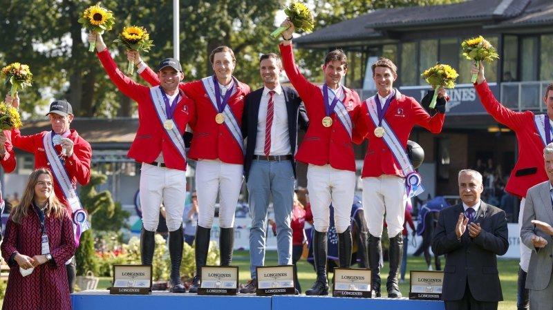 Bryan Balsiger, champion d'Europe avec la Suisse: «J'avais le meilleur sentiment possible»