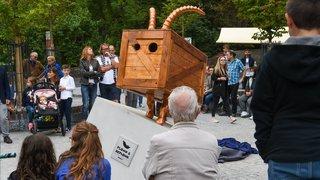 La Chaux-de-Fonds: le Bois du P'tit héberge désormais un dahu