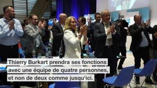 L'Argovien Thierry Burkart élu haut la main à la présidence du PLR