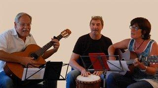 Brigitte, Willy et Rémy - Voix, guitarres et percu