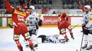 Hockey – National League: Bienne renverse Fribourg, Genève-Servette met Berne dans les ennuis