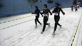 Course sur la neige à Dubaï, Russes aux urnes, JO 2022: la galerie photos du 17 septembre 2021