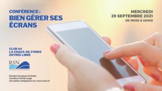 Conférence annuelle du RSN : bien gérer ses écrans