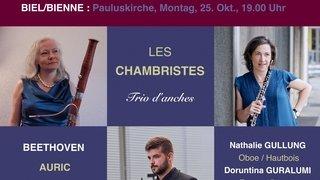 Concert des Chambristes : Trio d'anches