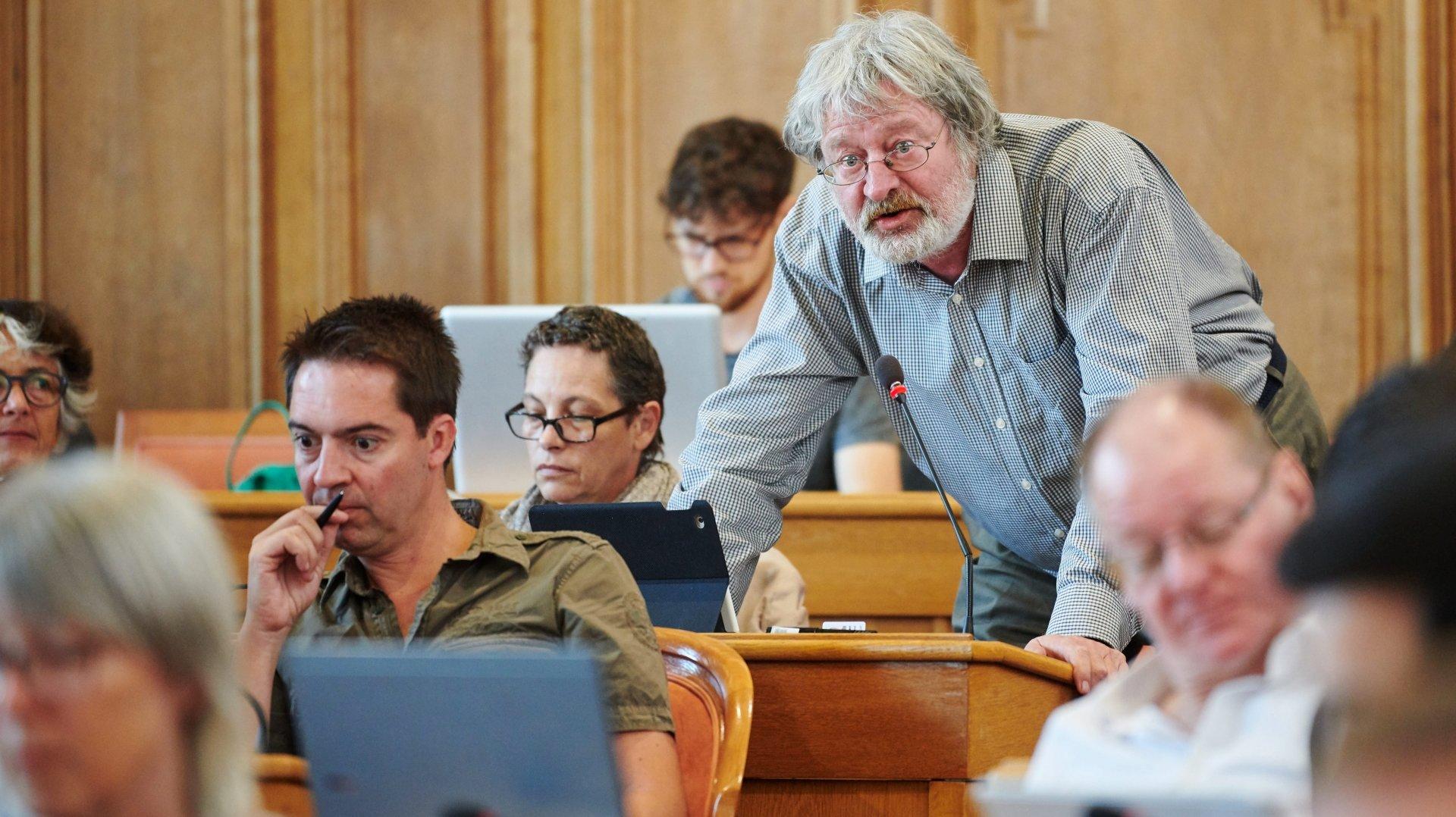 Ténor du Grand Conseil neuchâtelois, Daniel Ziegler bat en retraite