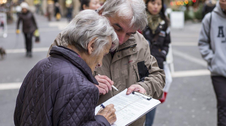 Les récoltes frauduleuses de signatures ne seront pas punies