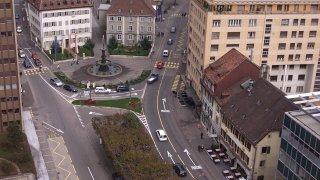 En 2003, La Chaux-de-Fonds rêve d'un Pod quasi piéton