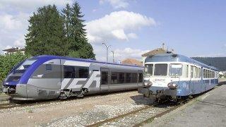 En 2001, la «Micheline» quitte Le Locle