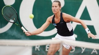 Tennis: Conny Perrin finaliste en Espagne