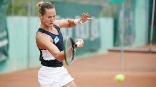 Tennis: Conny Perrin bute en demi-finales en Allemagne