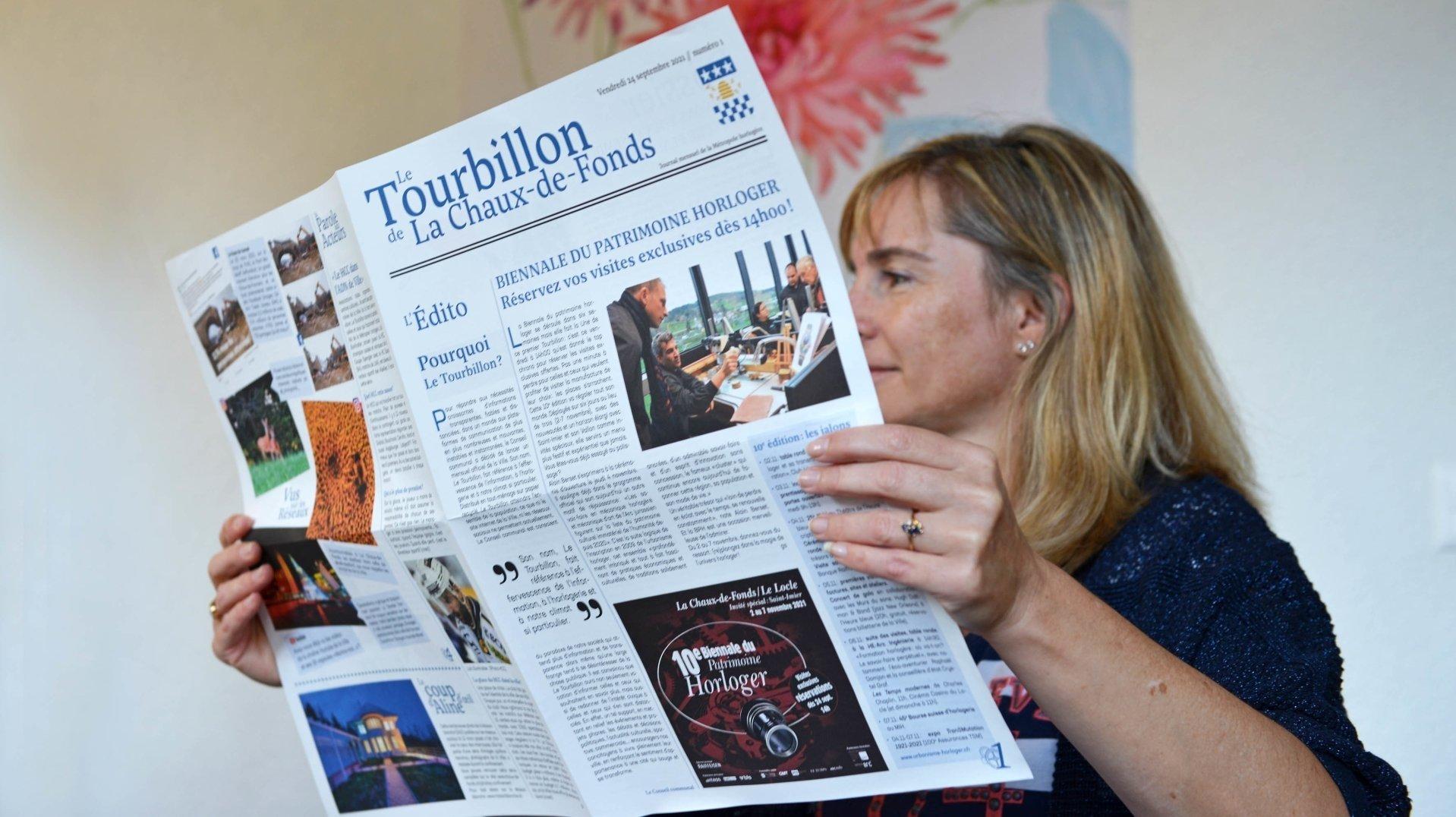 Avec «Le Tourbillon», La Chaux-de-Fonds tient son journal officiel