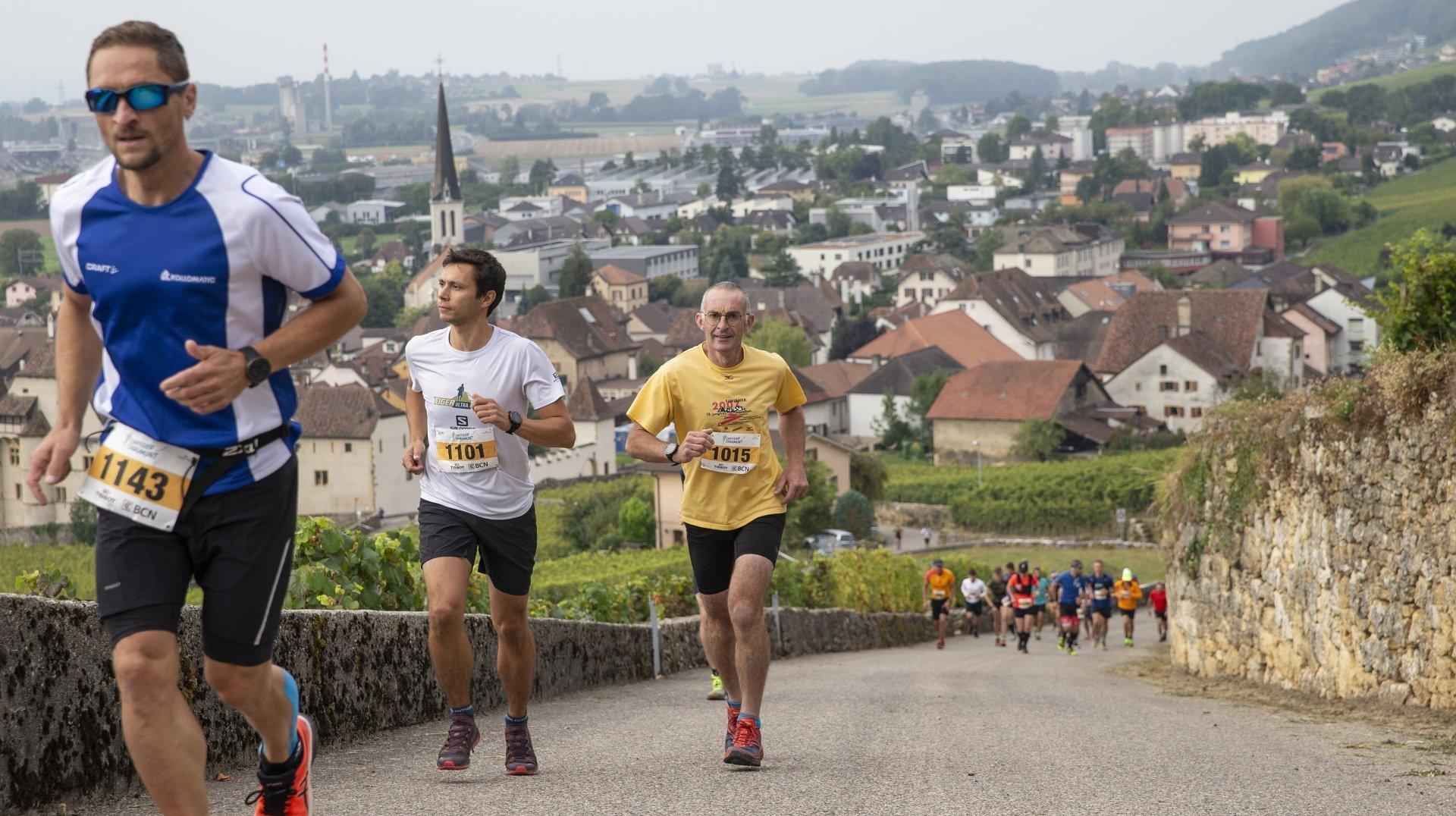 Cressier-Chaumont: Rumpf et Yerly l'emportent sur le trail