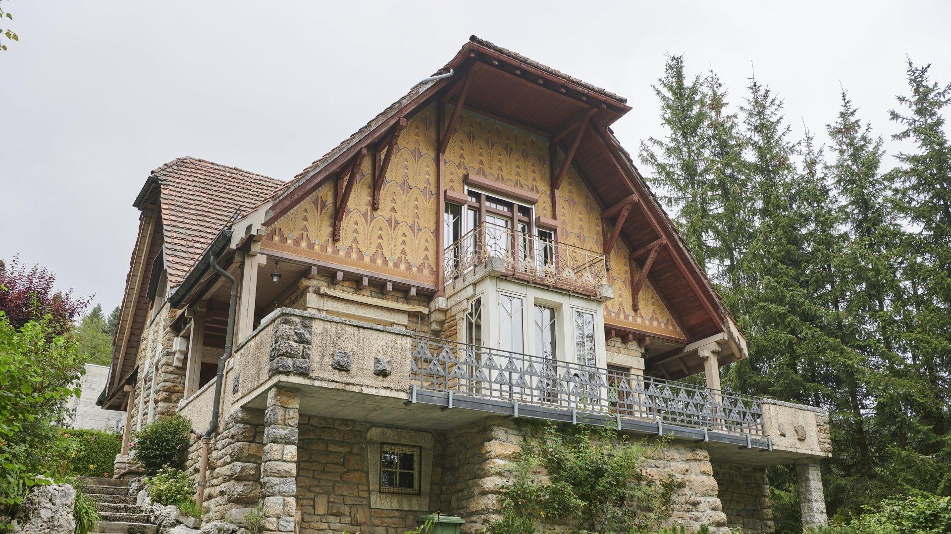 La première maison sur laquelle Le Corbusier a travaillé est en vente