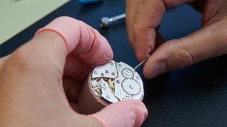 Horlogerie: exportations «légèrement négatives» en août