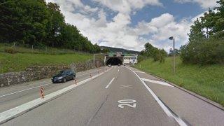 Une collision entraîne la fermeture de l'autoroute aux Hauts-Geneveys