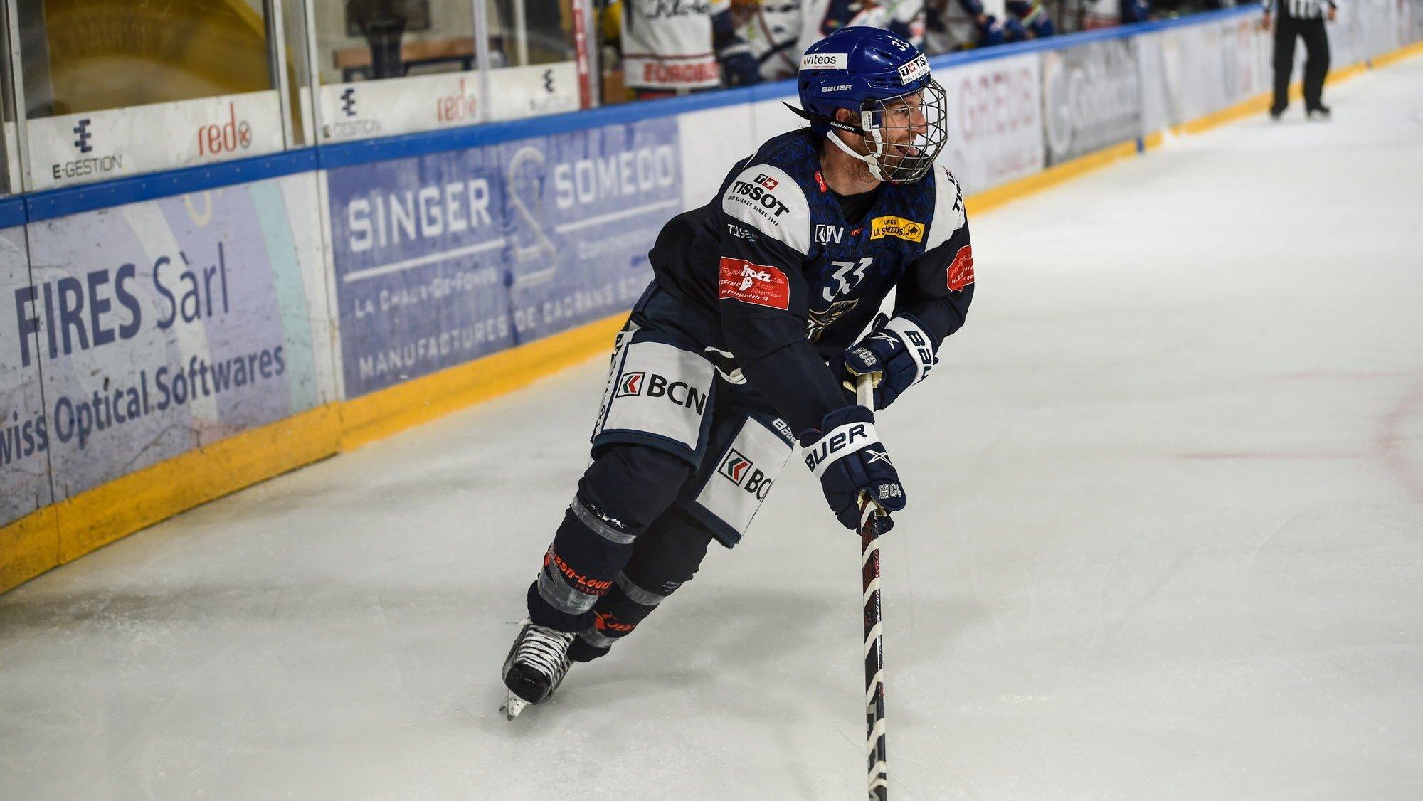 Hockey sur glace: séduisant contre Kloten, le HCC est prudent avant Langenthal