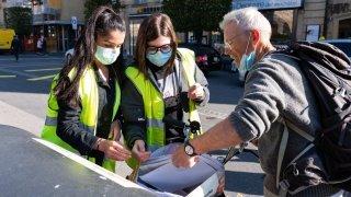 Neuchâtel: des jeunes mobilisés autour des points de collecte de déchets