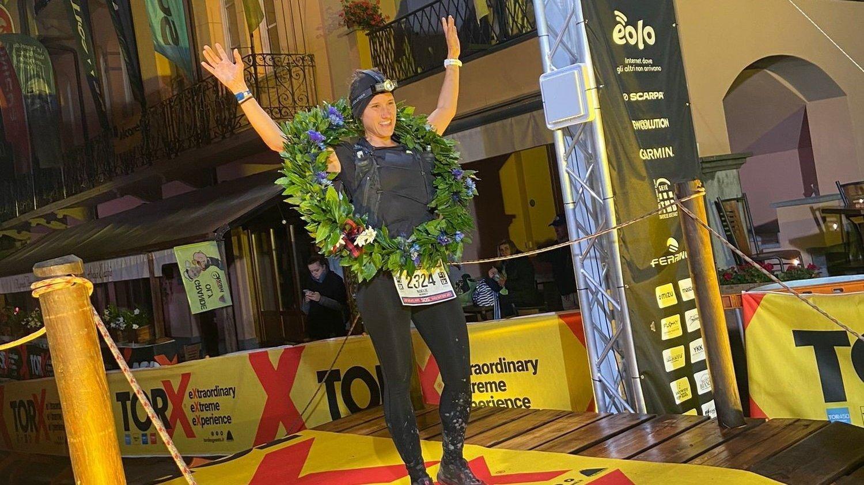 Ultratrail: la Vaudruzienne Noélie Monney gagne une course du Tor des Géants