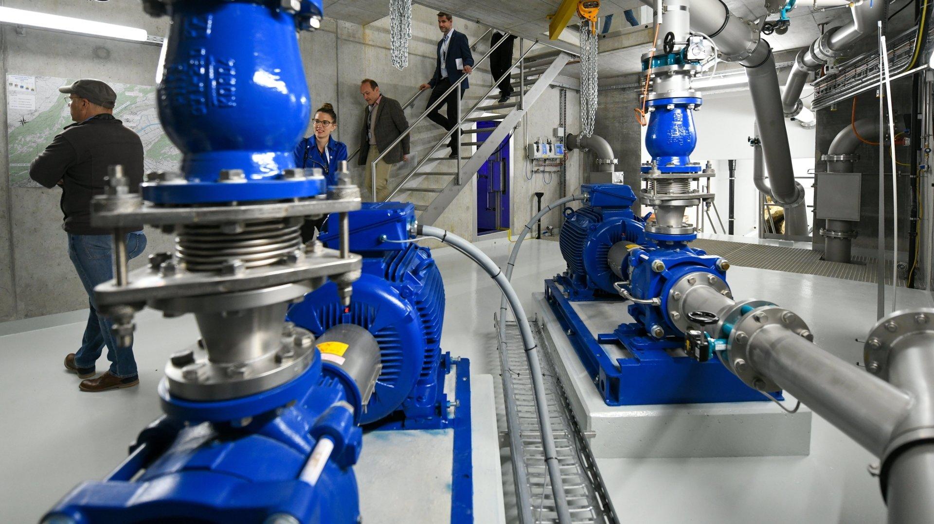 Neuchâtel: un réservoir d'eau remis à neuf