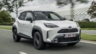 Toyota Yaris Cross: à l'aise en ville et sur route