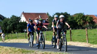 A vélo ou en rollers, ça roulait au Val-de-Ruz ce dimanche
