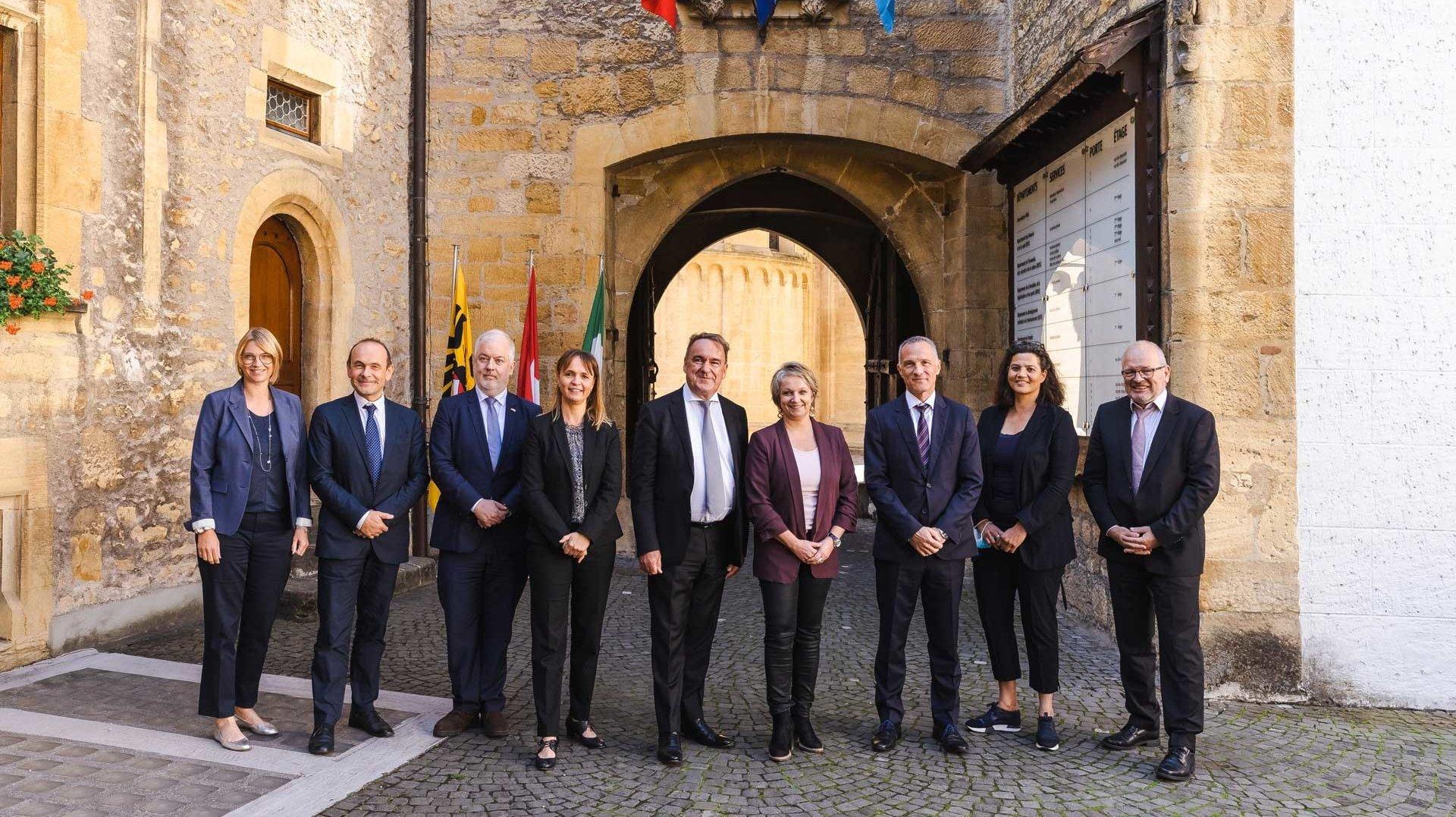 Neuchâtel a reçu les représentants du Benelux