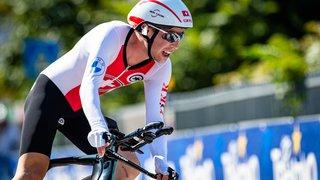 Valère Thiébaud troisième des championnats de Suisse de poursuite