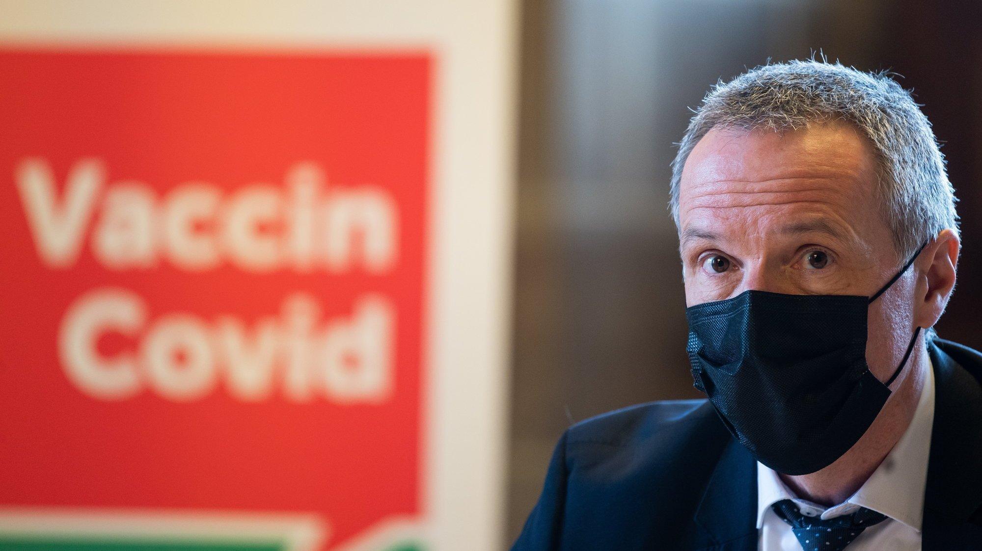 Pour Laurent Kurth, il reste encore des Neuchâtelois qui ont besoin d'informations sur la vaccination contre le coronavirus.