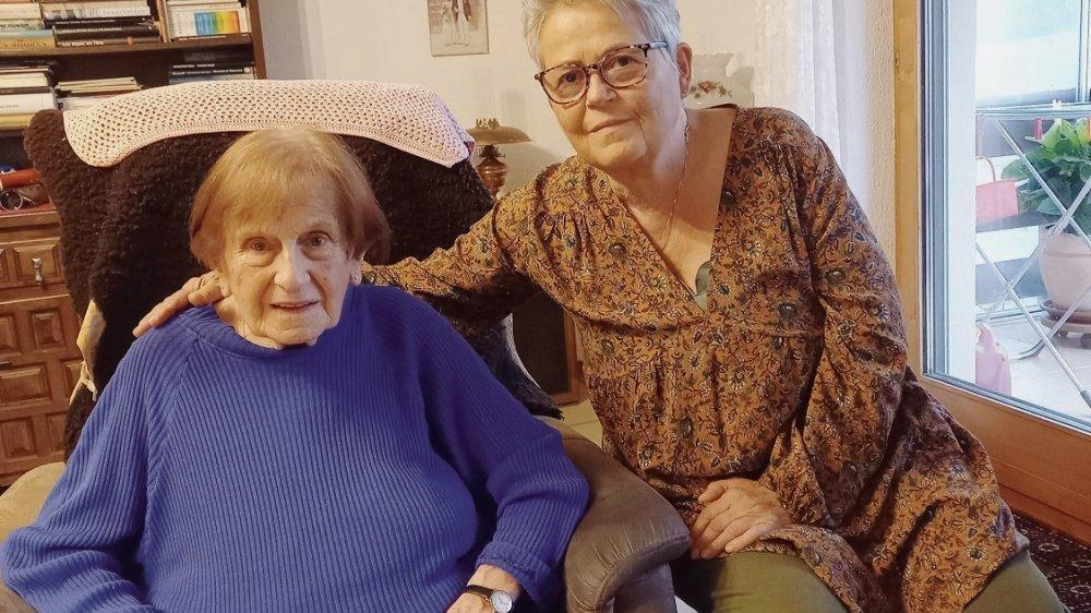 La tumeur de Marie-Thérèse Linder faisait la taille d'une mandarine, celle de sa fille Monique celle d'un grain de riz.