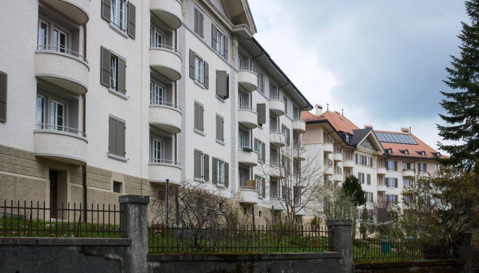 La Chaux-de-Fonds: le quartier des Forges.