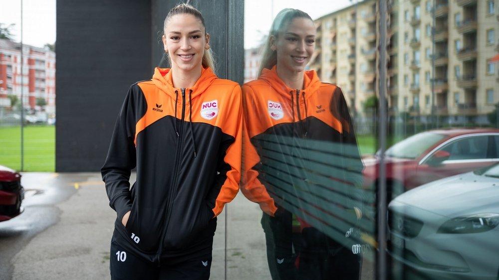 Originaire de Split, Barbara Dapic se réjouit d'affronter les rivales de Zagreb.