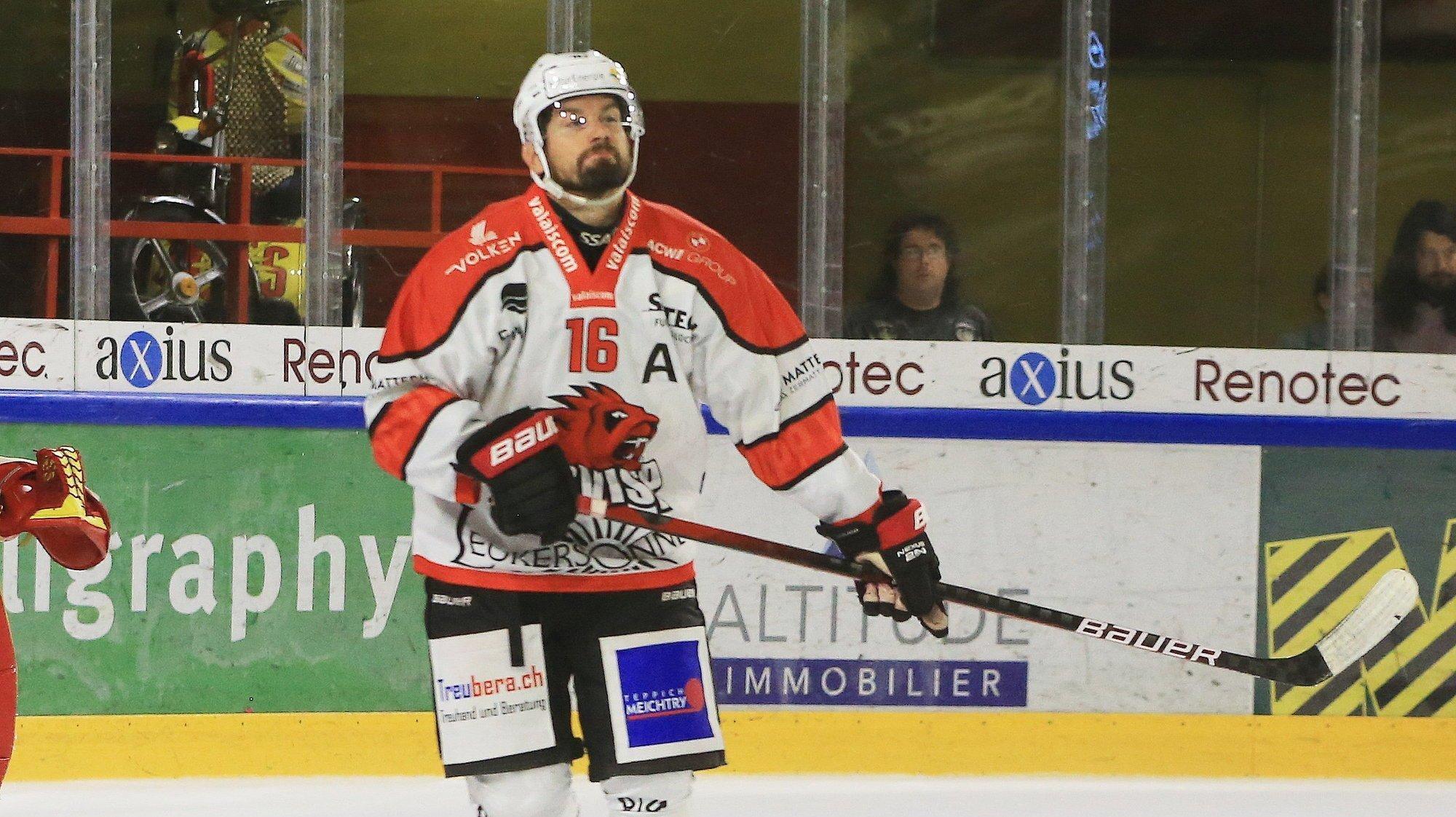 Niklas Olausson ne pourra pas jouer durant les deux prochaines semaines avec le HC Viège.