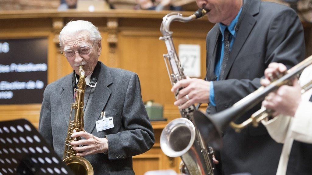 René Langel était un grand fan de jazz.