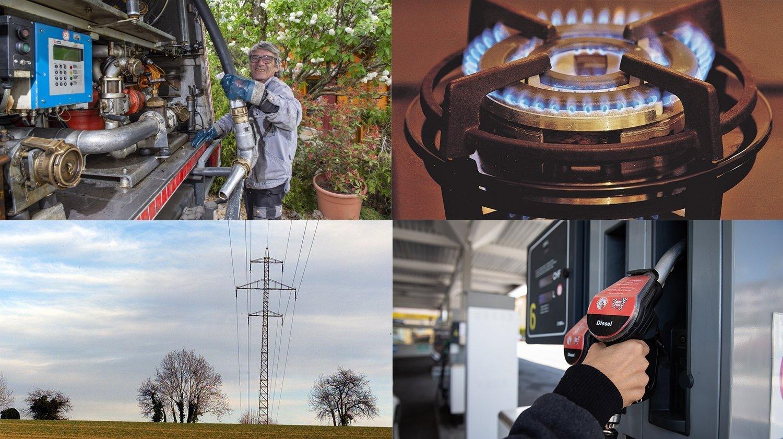 Mazout, gaz, essence, électricité: les factures des Neuchâtelois vont grimper