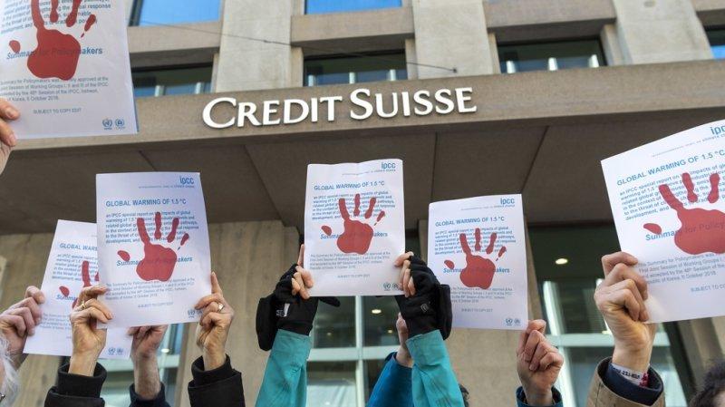 Selon le Tribunal fédéral, l'activiste de Breakfree Suisse ne peut pas invoquer la liberté d'expression ou la liberté de réunion.