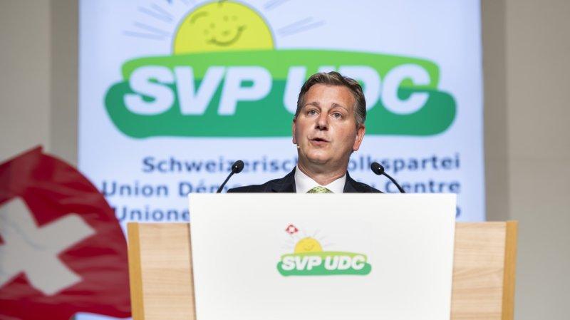 Baromètre électoral: l'UDC creuse l'écart, les positions se resserrent derrière