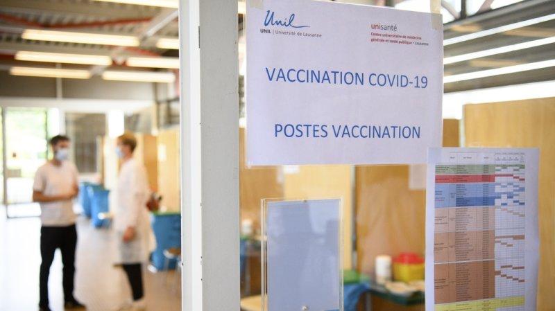 Coronavirus: 71,69% des plus de 12 ans entièrement vaccinés en Suisse