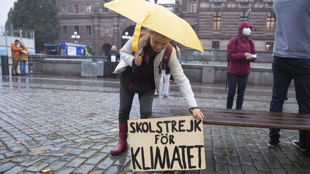 Suède: Greta Thunberg n'attend «pas de grands changements» de la COP26
