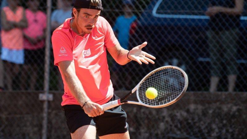 Tennis: nouvelle finale de double en Tunisie pour Mirko Martinez