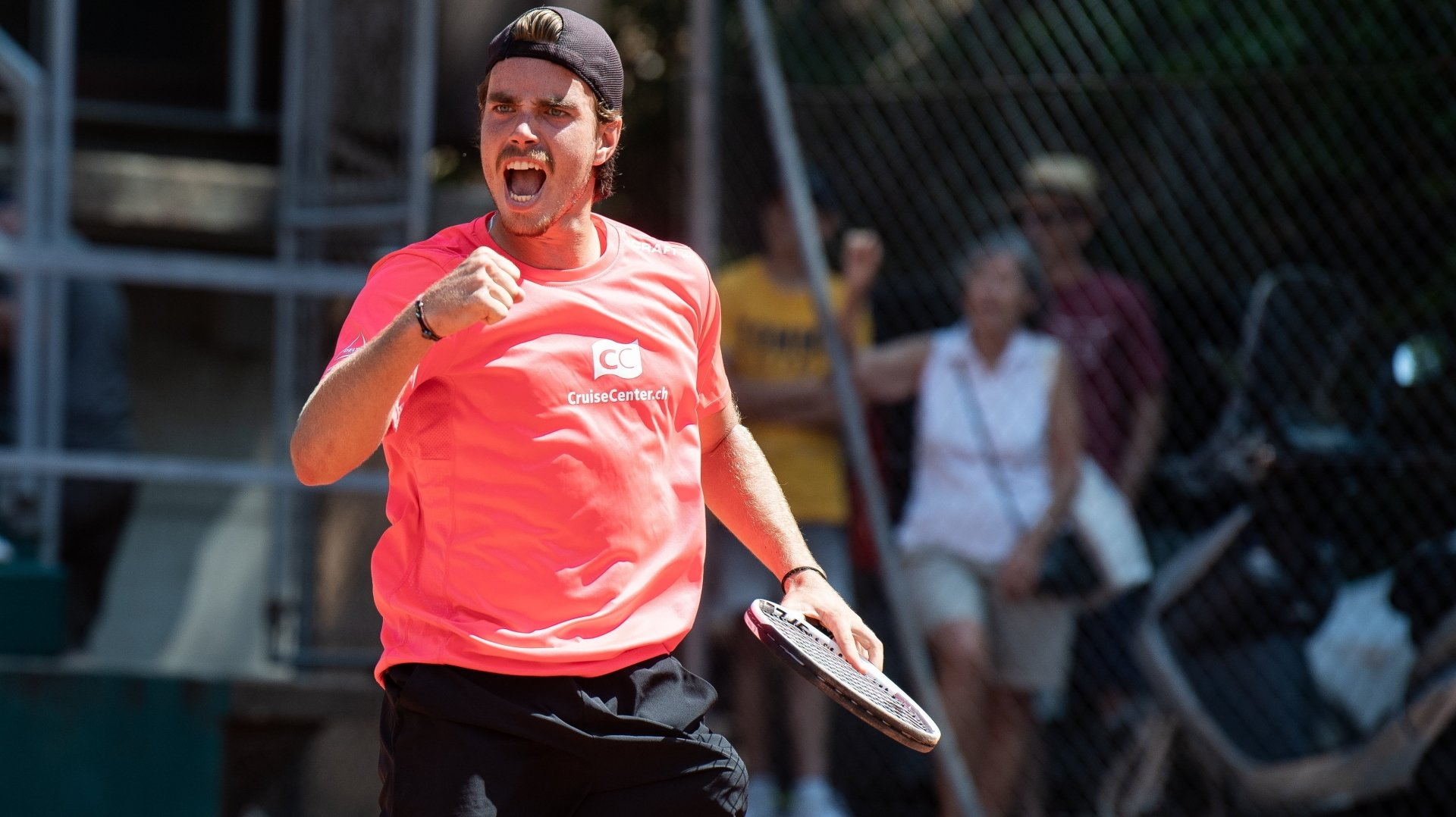 Tennis: Damien Wenger, Louroi et Mirko Martinez brillent en double messieurs sur le circuit ITF
