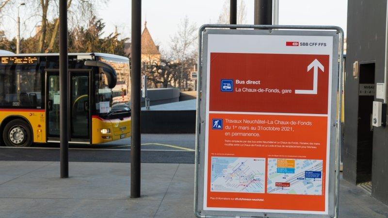 Neuchâtel – La Chaux-de-Fonds: retour des trains à partir du 1er novembre