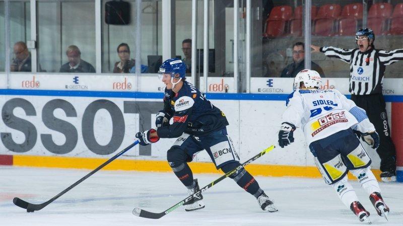 Hockey: Loïc In-Albon adopte désormais une autre philosophie de vie