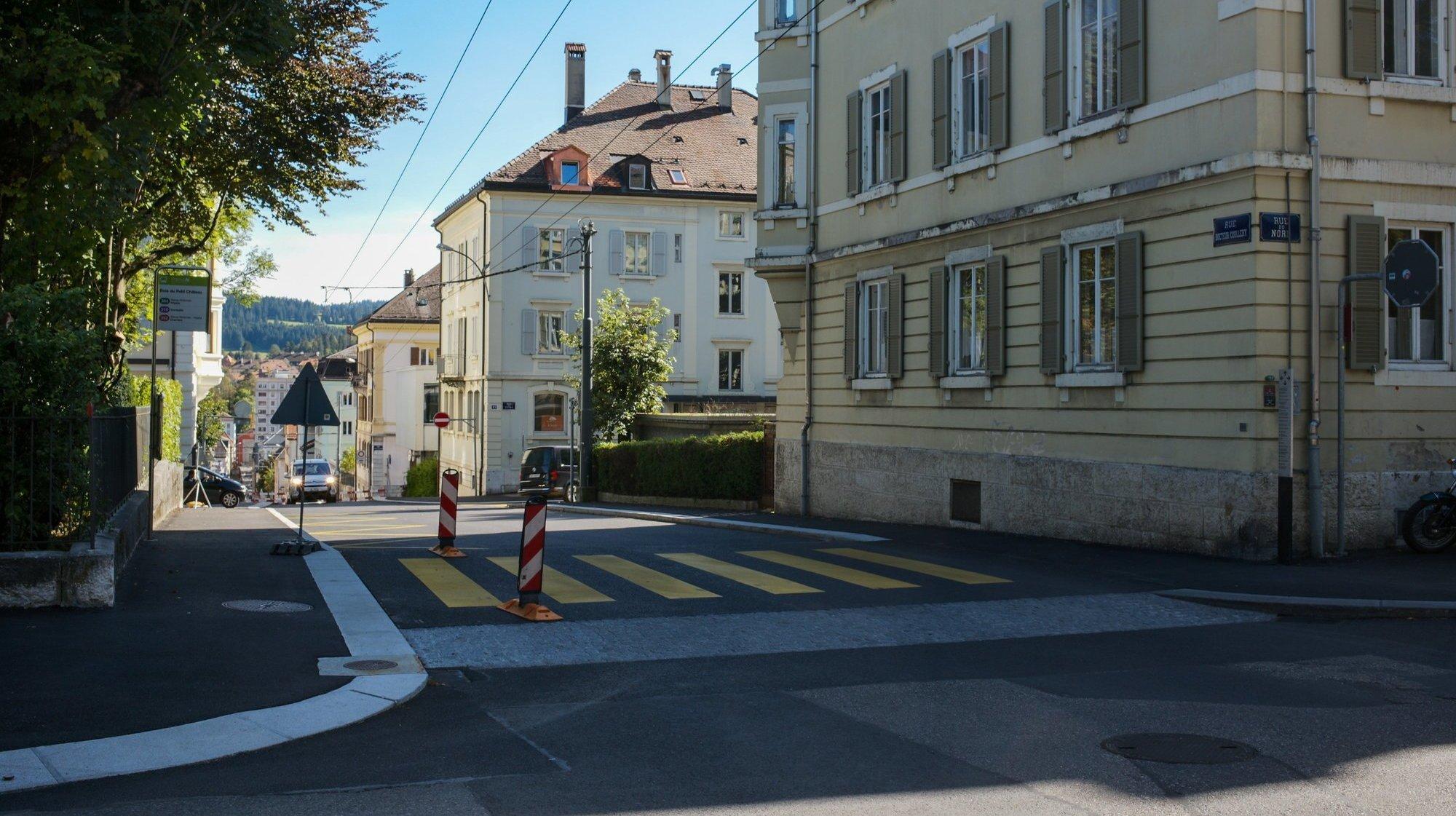 La rue du Dr-Coullery, qui a été fermée à la circulation entre les rues du Temple-Allemand et du Doubs, rouvrira au trafic au plus tard le 12 octobre.
