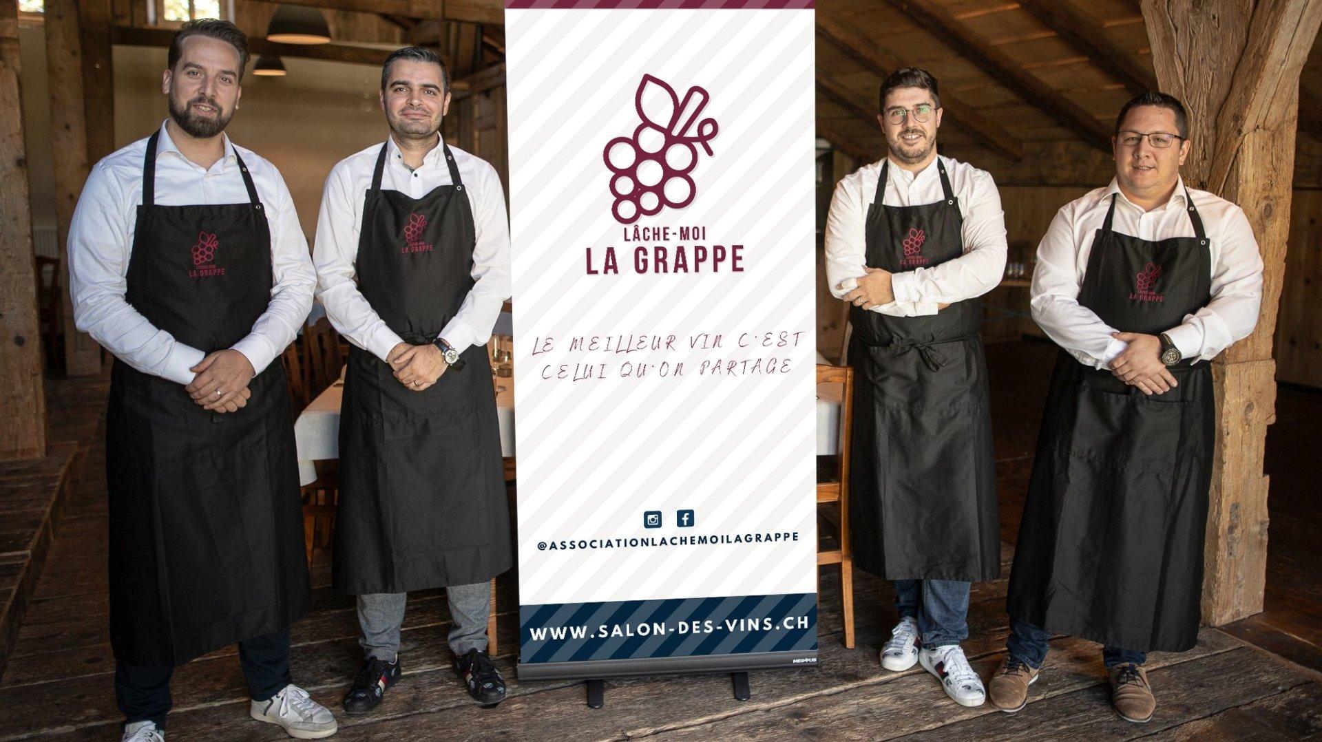 Des potes amateurs de bonnes bouteilles organisent le deuxième Salon des vins à La Chaux-de-Fonds