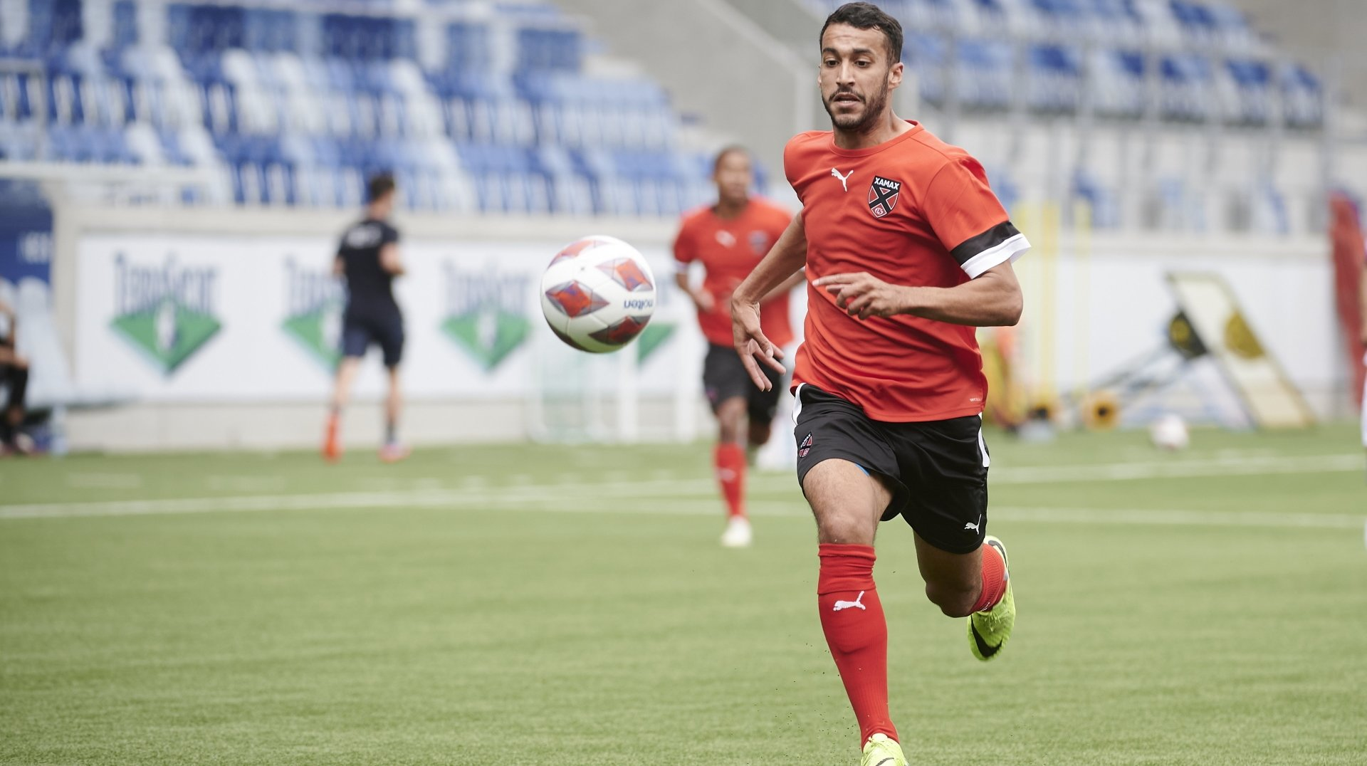 Football: grave blessure pour le Xamaxien Ayoub Ouhafsa