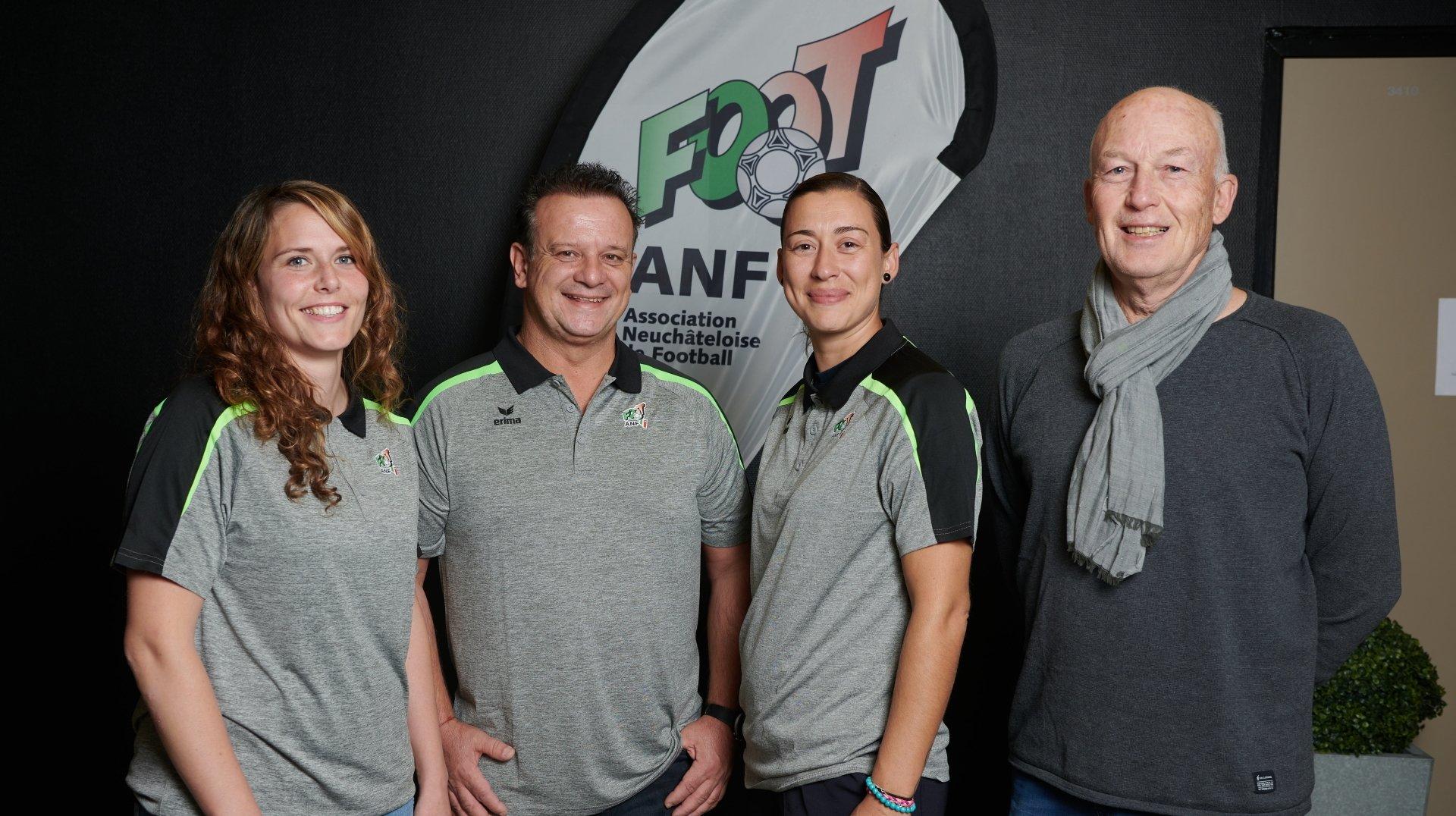 Football: un trio à la tête de la section féminine de l'ANF